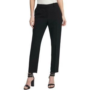 DKNY Womens Fixed Waist Skinny Fit Ankle Pants